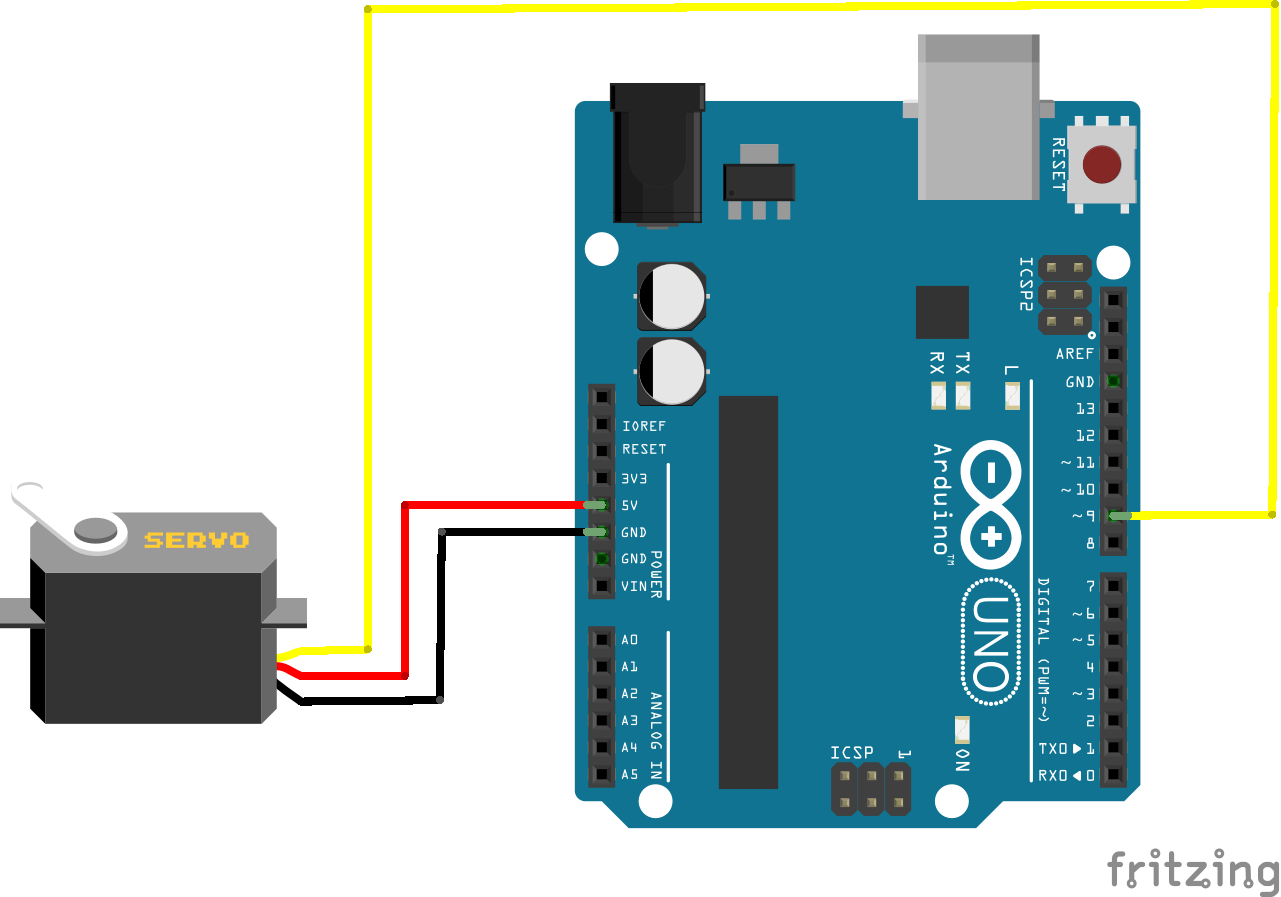 The Arduino Inventors Guide: Nuts and Volts/SERVO